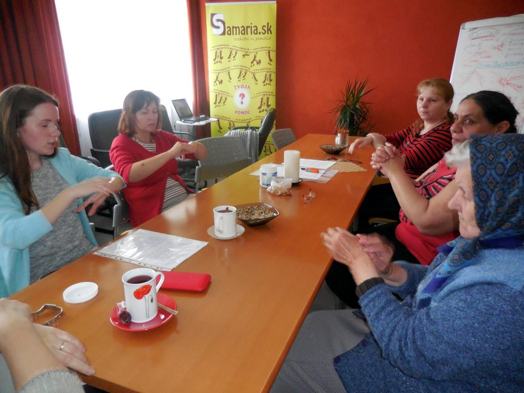 Stretávanie senioriek