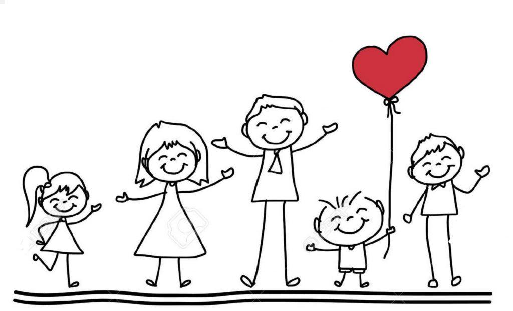 Nakresli svoju rodinu